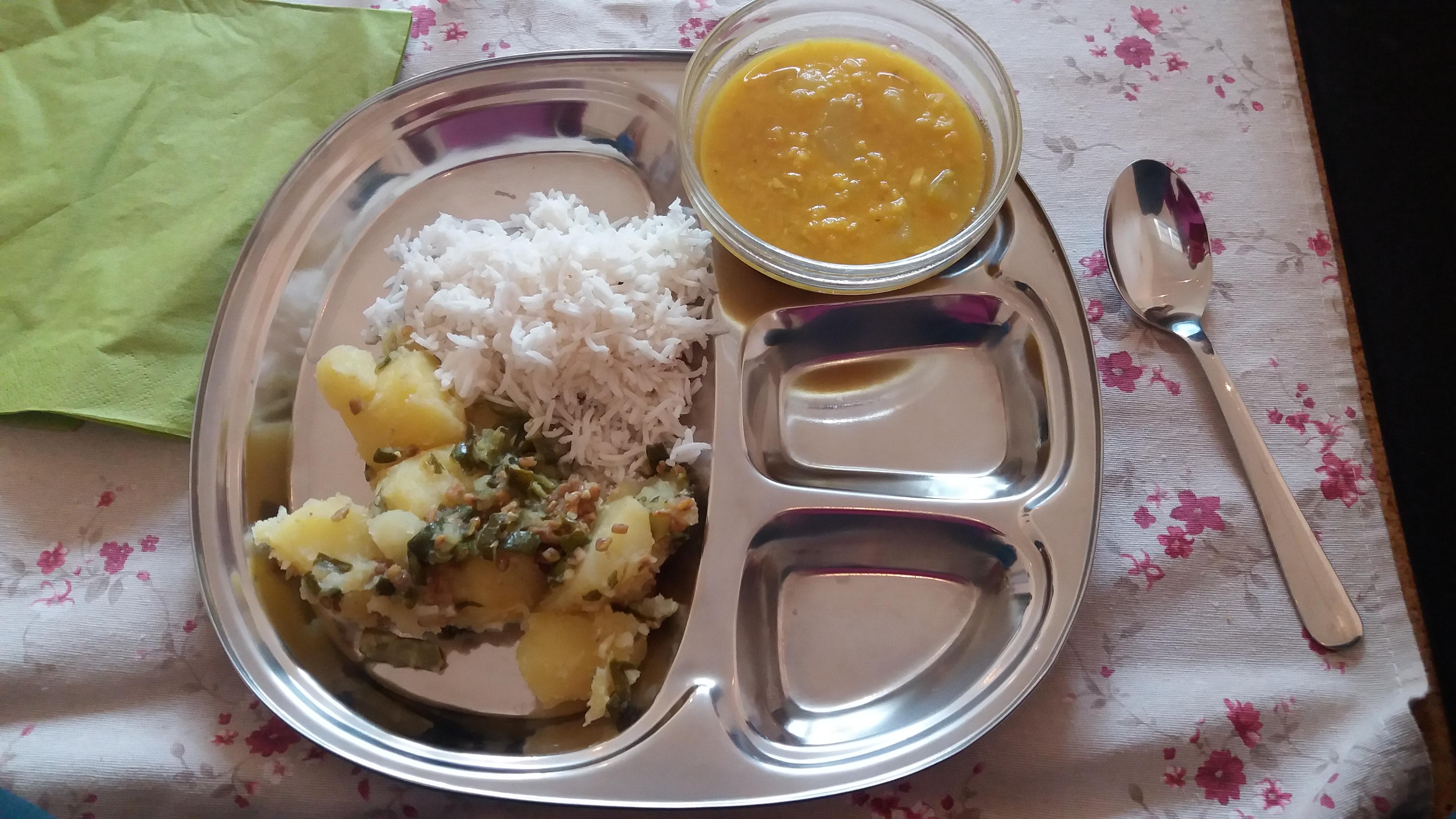 Ayurvedische maaltijd 1-4-2016